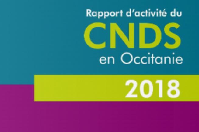 Publication du rapport d'activité du CNDS 2018 en Occitanie