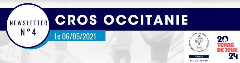 Newsletter n°4 du 06/05/2021 du CROS Occitanie