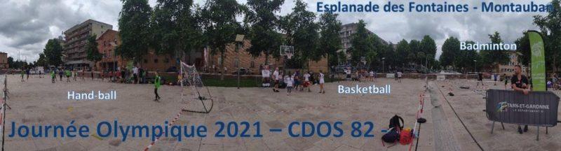 CDOS 82 – Retour en images sur la journée Olympique et Paralympique du 23 juin 2021