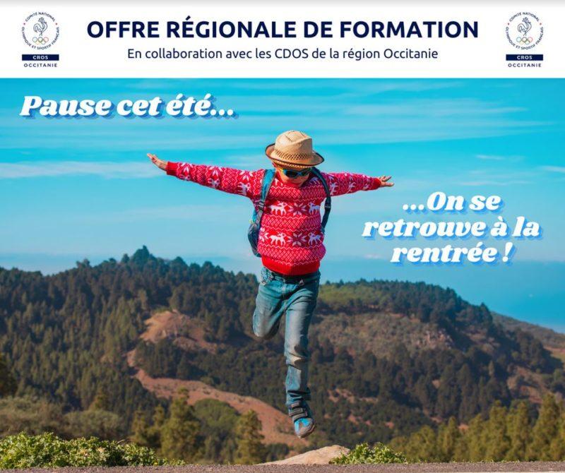 OFFRE REGIONALE DE FORMATION – Septembre – Octobre 2021 – CROS OCCITANIE