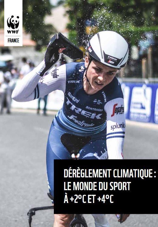 Rapport du WWF France et du Ministère des Sports sur le dérèglement climatique et le sport